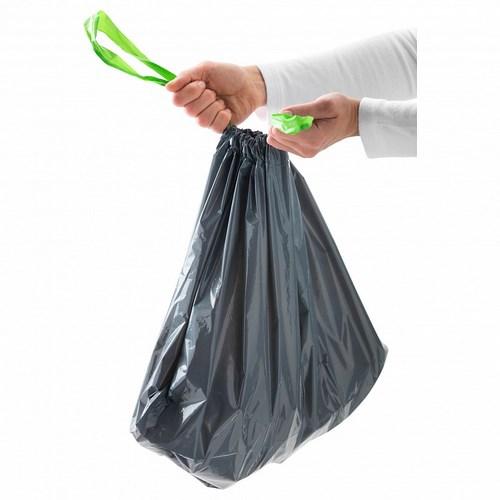 Пакеты для мусора с завязками